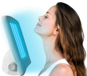 facial tanning lamps to boost vitamin d